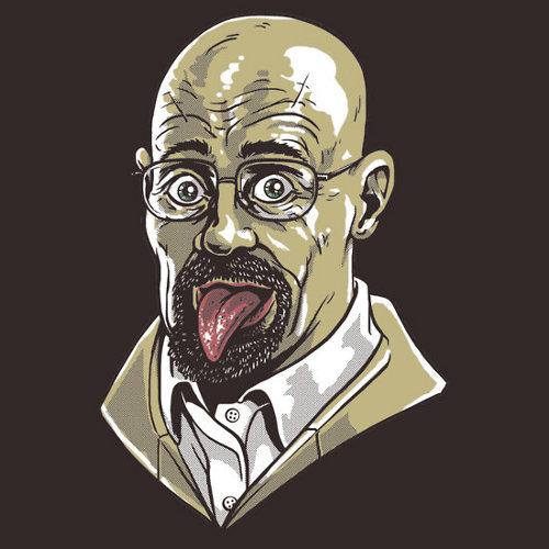 Heisenberg Albert Einstein Tongue Breaking Bad T-Shirt