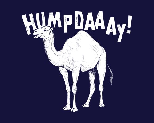 Hump Day Geico Camel Commercial T-Shirt