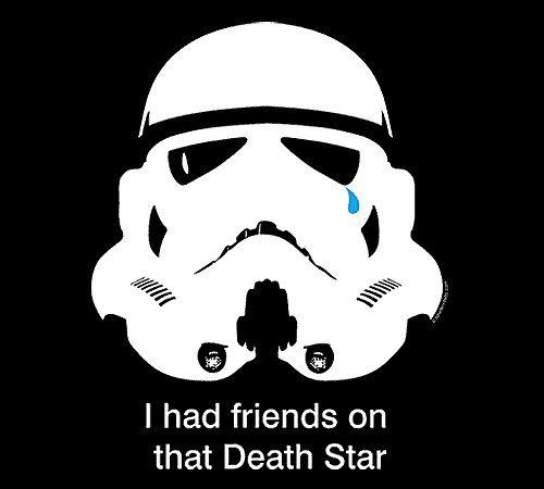 Stormtrooper Death Star Friends Star Wars T-Shirt