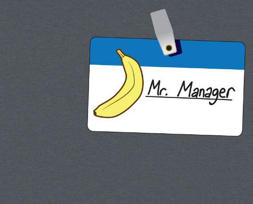 Arrested Development Mr. Manager Banana Stand T-Shirt