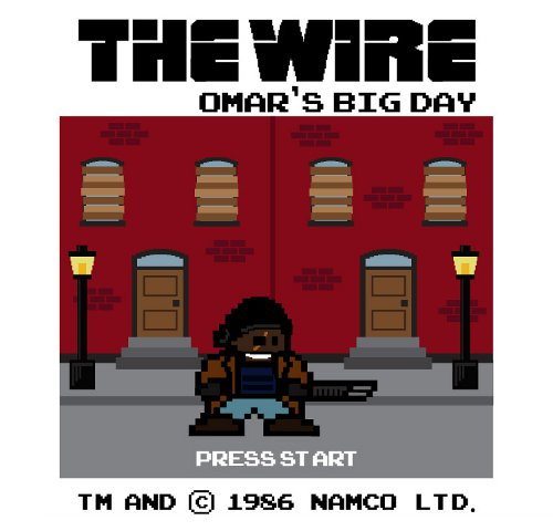The Wire Omar Nintendo Game T-Shirt