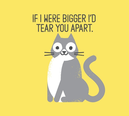 Cat Bigger Tear You Apart T-Shirt