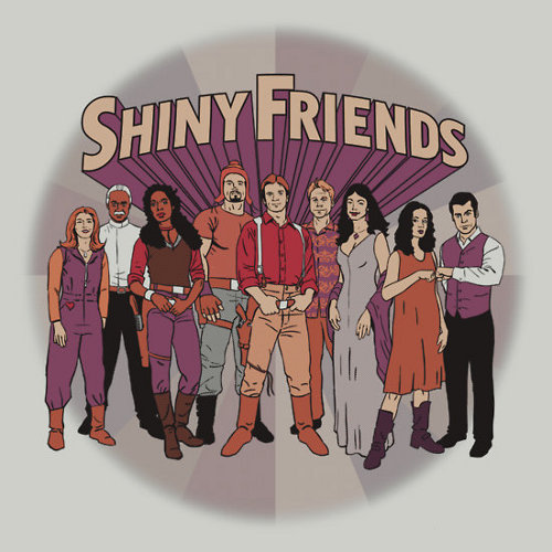 Firefly Shiny Super Friends T-Shirt