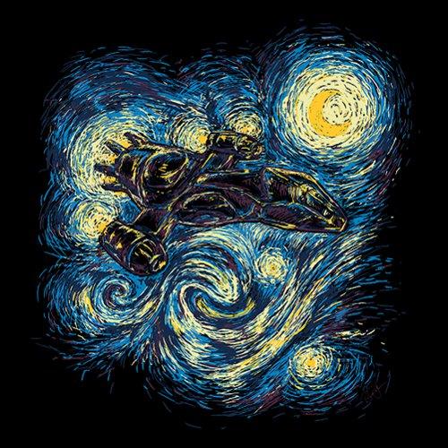 Firefly Serenity Starry Night Van Gogh T-Shirt