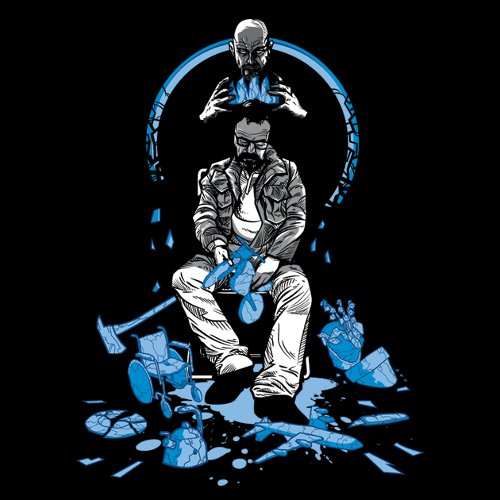 Broken King Heisenberg Breaking Bad T-Shirt