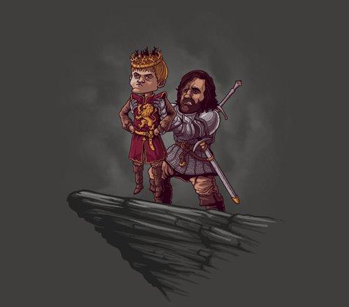Joffrey Game of Thrones Lion King T-Shirt