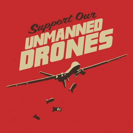 Support Unmanned Drones T-Shirt