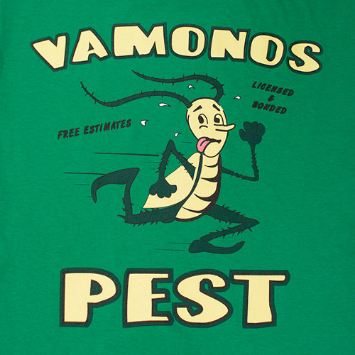 Vamonos Pest Logo Breaking Bad T-Shirt