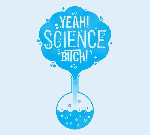 Yeah Science Bitch Beaker Breaking Bad T-Shirt
