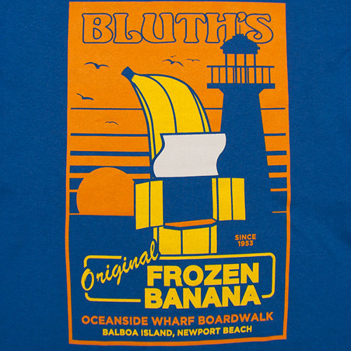 Bluth Frozen Banana Stand Arrested Development T-Shirt