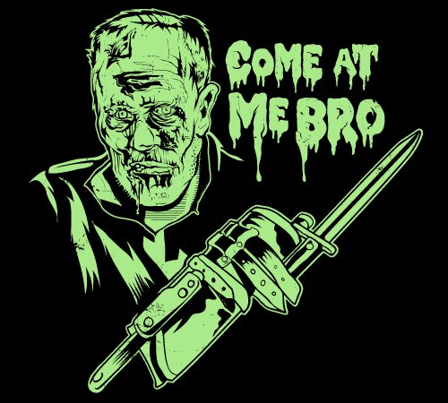 Come At Me Bro Merle Dixon Walking Dead T-Shirt