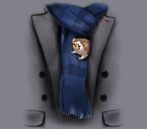 Sherlock Holmes Watson Hedgehog Costume T-Shirt