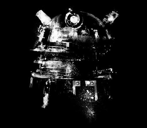 Dalek Negative Doctor Who T-Shirt