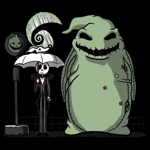 My Neighbor Totoro Oogie Nightmare Before Christmas T-Shirt