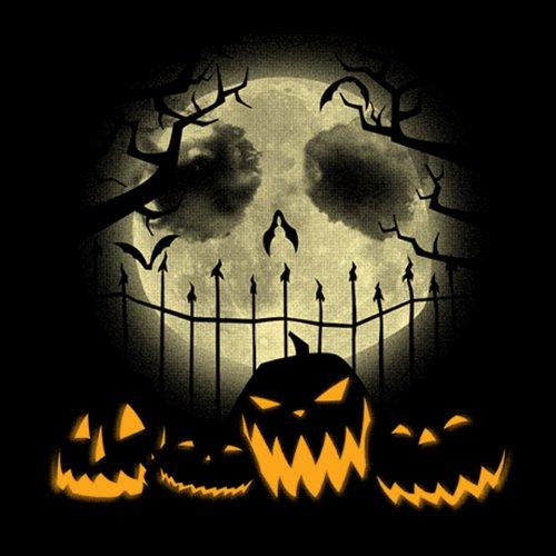 Nightmare Before Christmas Jack Pumpkin Moon T-Shirt
