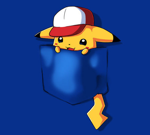 Pikachu Pocket Monster Yellow Pokemon T-Shirt