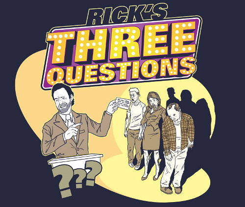 Rick's Three Questions Walking Dead Game Show T-Shirt