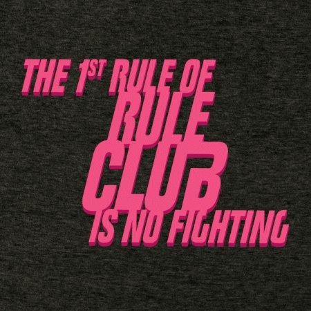 First Rule Club No Fighting T-Shirt