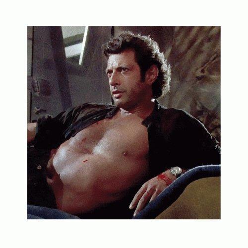 Sexy Jeff Goldblum Photo Jurassic Park T-Shirt