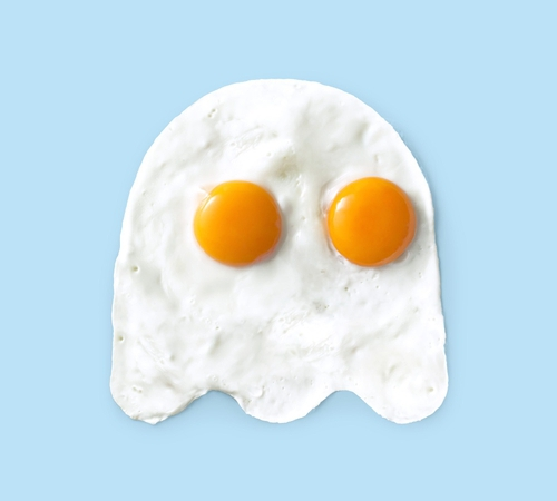 Pac-Man Ghost Eggs T-Shirt