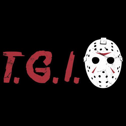 TGIF Friday the 13th Jason Mask T-Shirt