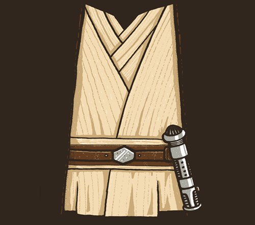 Obi-Wan Kenobi Robe Costume Star Wars T-Shirt