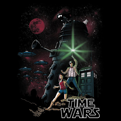 Doctor Who Star Wars New Hope Poster T-Shirt