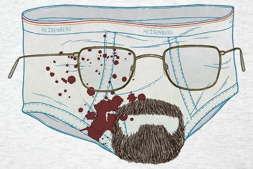 Walter White Underwear Breaking Bad T-Shirt