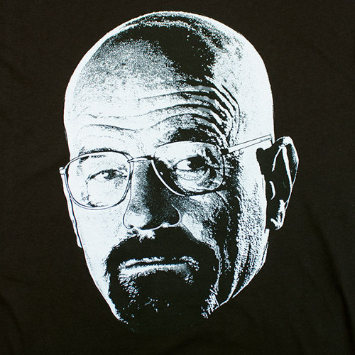 Walter White Photo Breaking Bad T-Shirt