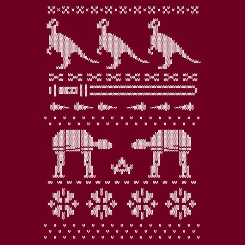 Happy Hothidays Star Wars Ugly Sweater T-Shirt