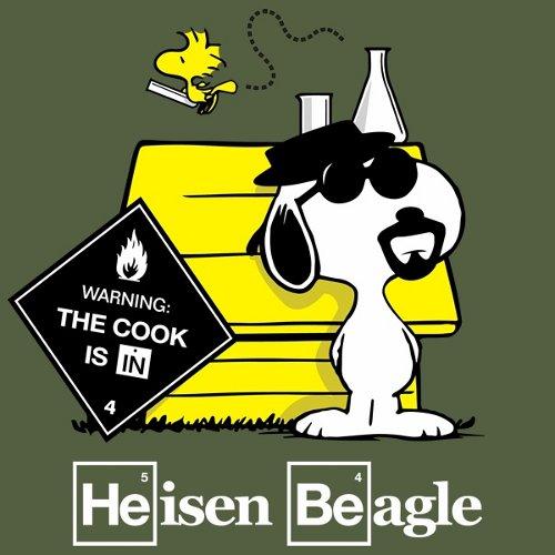 Snoopy Heisenberg Breaking Bad T-Shirt