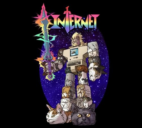 Internet Cat Voltron T-Shirt