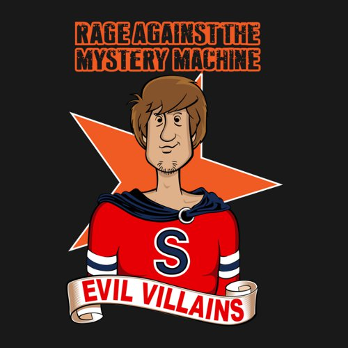 Rage Against The Mystery Machine Scooby-Doo T-Shirt