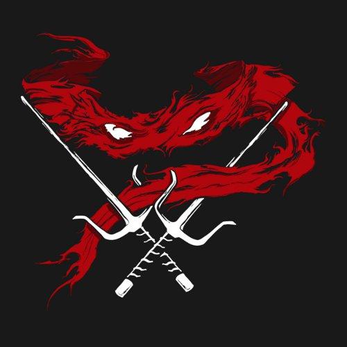 Raphael Minimal Sash Sai Teenage Mutant Ninja Turtles T-Shirt