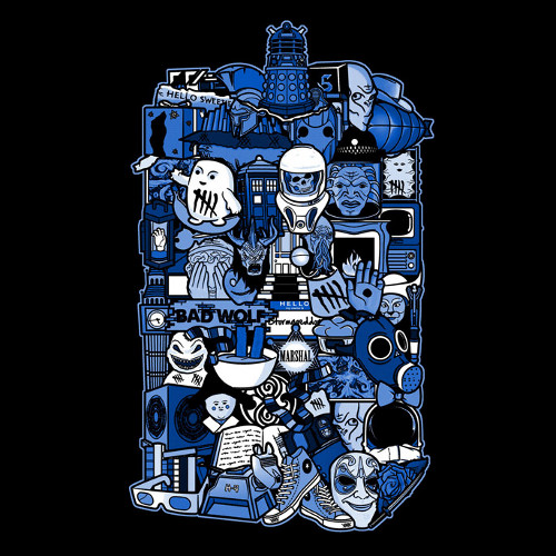 Doctor Who Tardis Parts More Inside T-Shirt