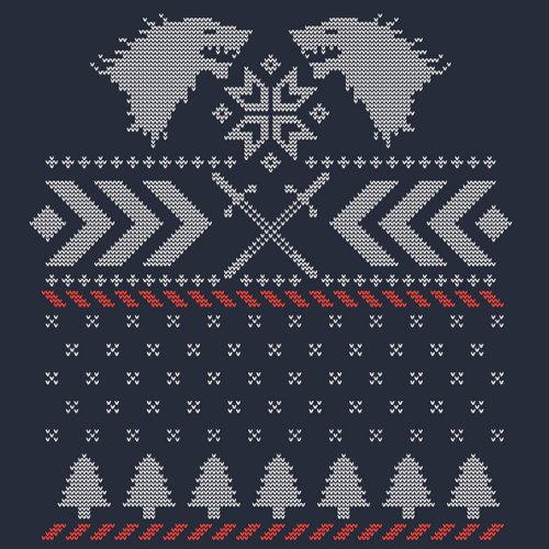 Winter Is Coming Game of Thrones Ugly Sweater T-Shirt