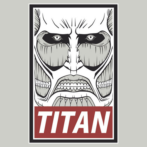 Obey Attack on Titan T-Shirt
