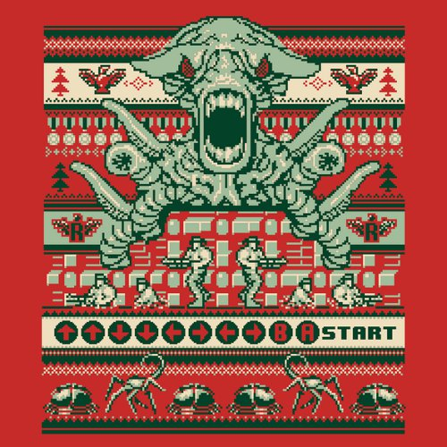 Contra Family Christmas Sweater T-Shirt