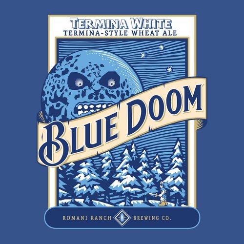 Blue Doom Legend of Zelda Beer T-Shirt
