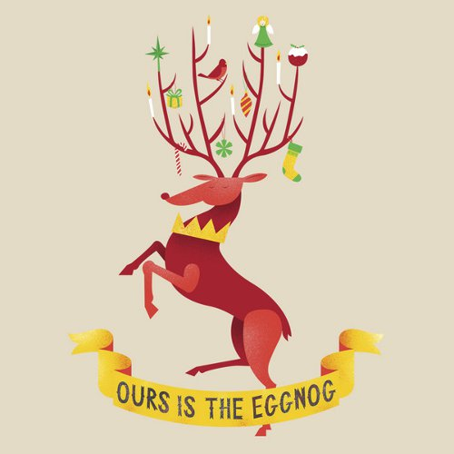Ours Is The Eggnog Baratheon Christmas Game of Thrones T-Shirt