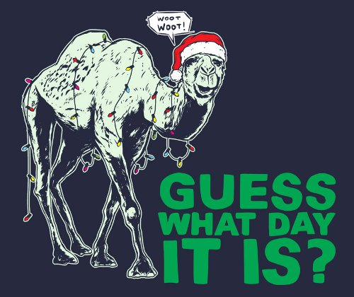 Hump Day Camel Christmas Geico T-Shirt
