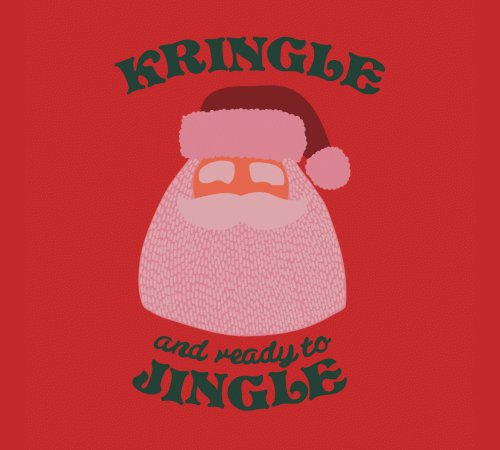Kris Kringle Ready To Jingle Santa Claus T-Shirt
