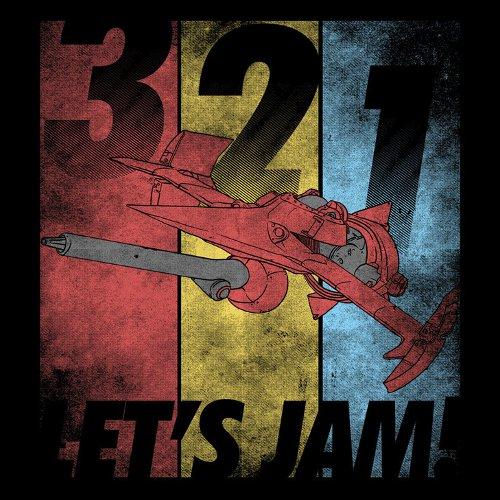3 2 1 Let's Jam Cowboy Bebop Intro Song T-Shirt