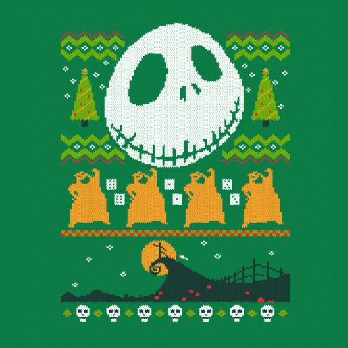 Nightmare Before Christmas Sweater T-Shirt