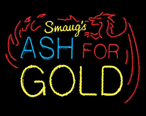 Smaug's Ash For Gold Hobbit T-Shirt