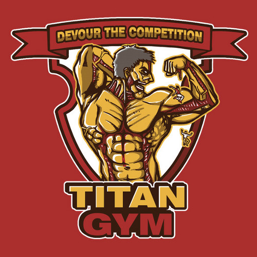 Attack on Titan Gym T-Shirt