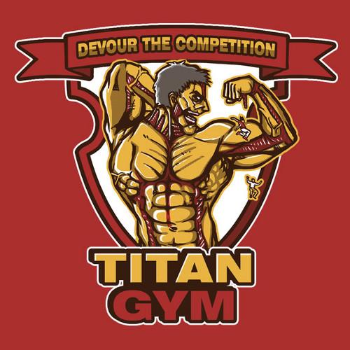 Attack on Titan Gym T-Shirt