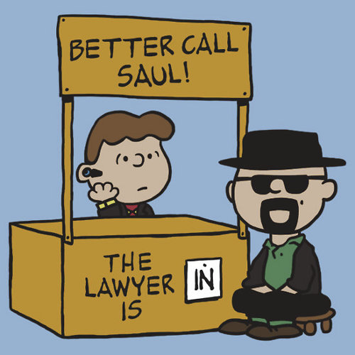 Better Call Saul Charlie Brown Heisenberg T-Shirt