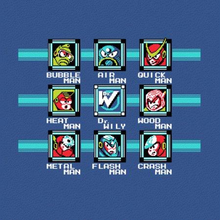 Mega Man Select Screen T-Shirt