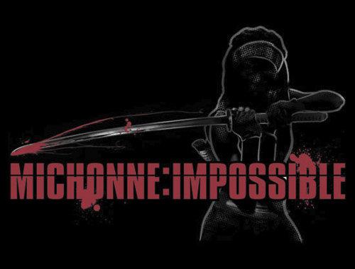 Michonne Impossible Walking Dead Mission T-Shirt